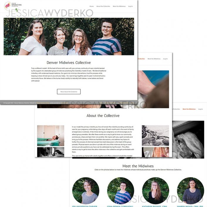 Denver Midwives Collective Web Design/Development